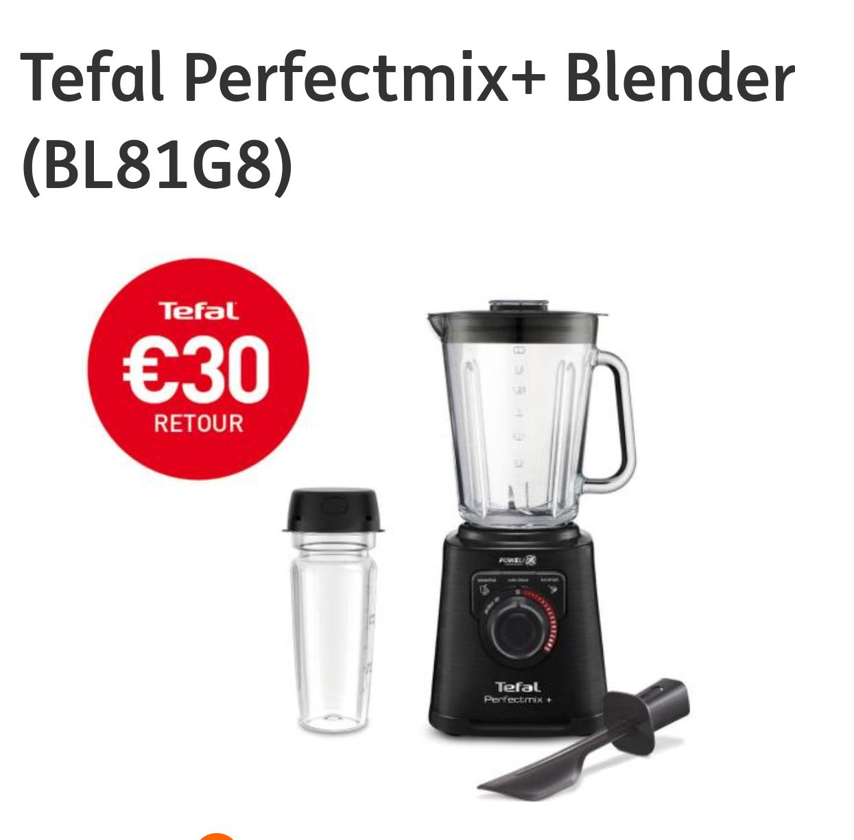 Tefal Perfectmix+ Blender (BL81G8) [ en €30 cashback]