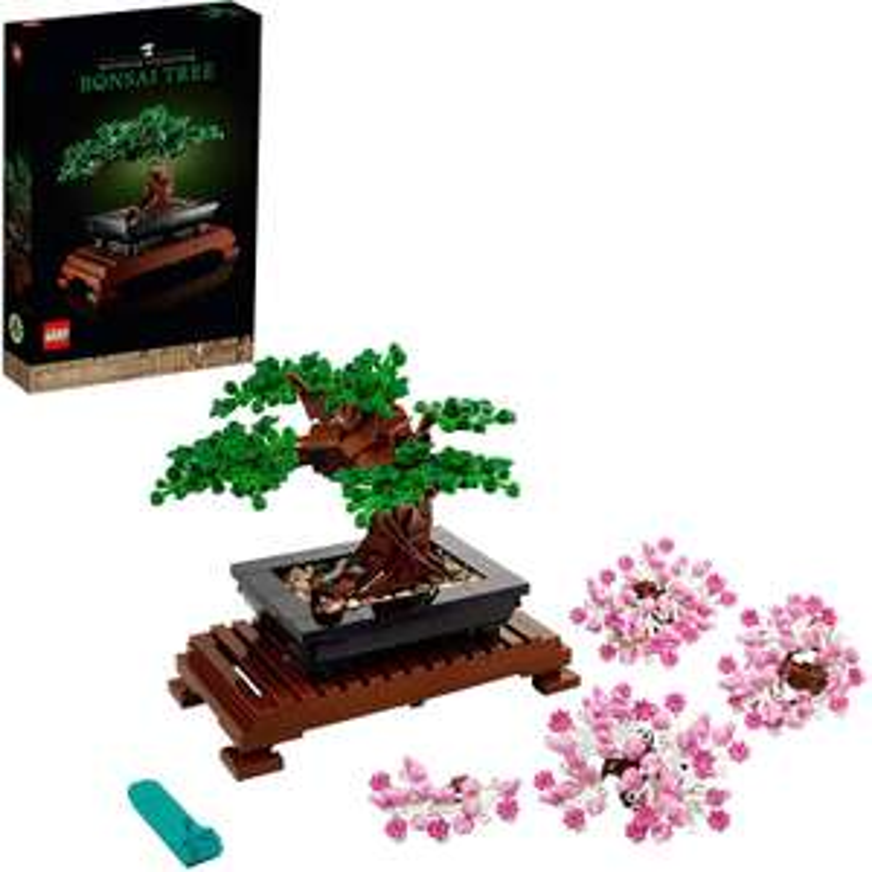 LEGO 10281 Bonsaiboom (€37,98 als je de code gebruikt)