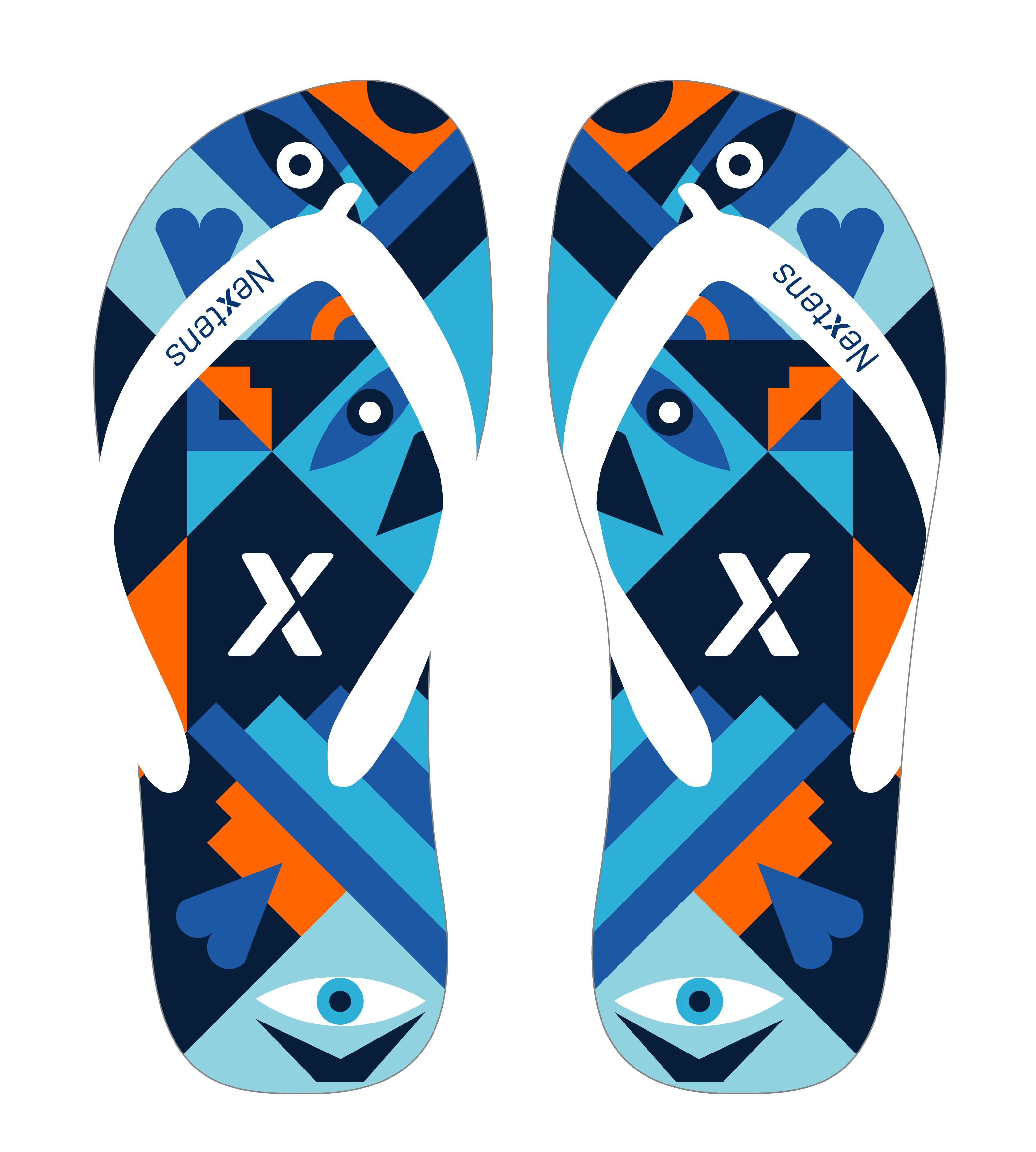 Gratis Nextens EK-Slippers!