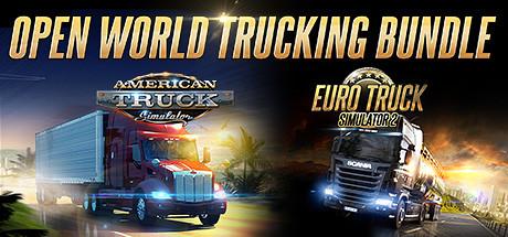Open World Trucking Bundle (Euro Truck Simulator 2 & American Truck Simulator)