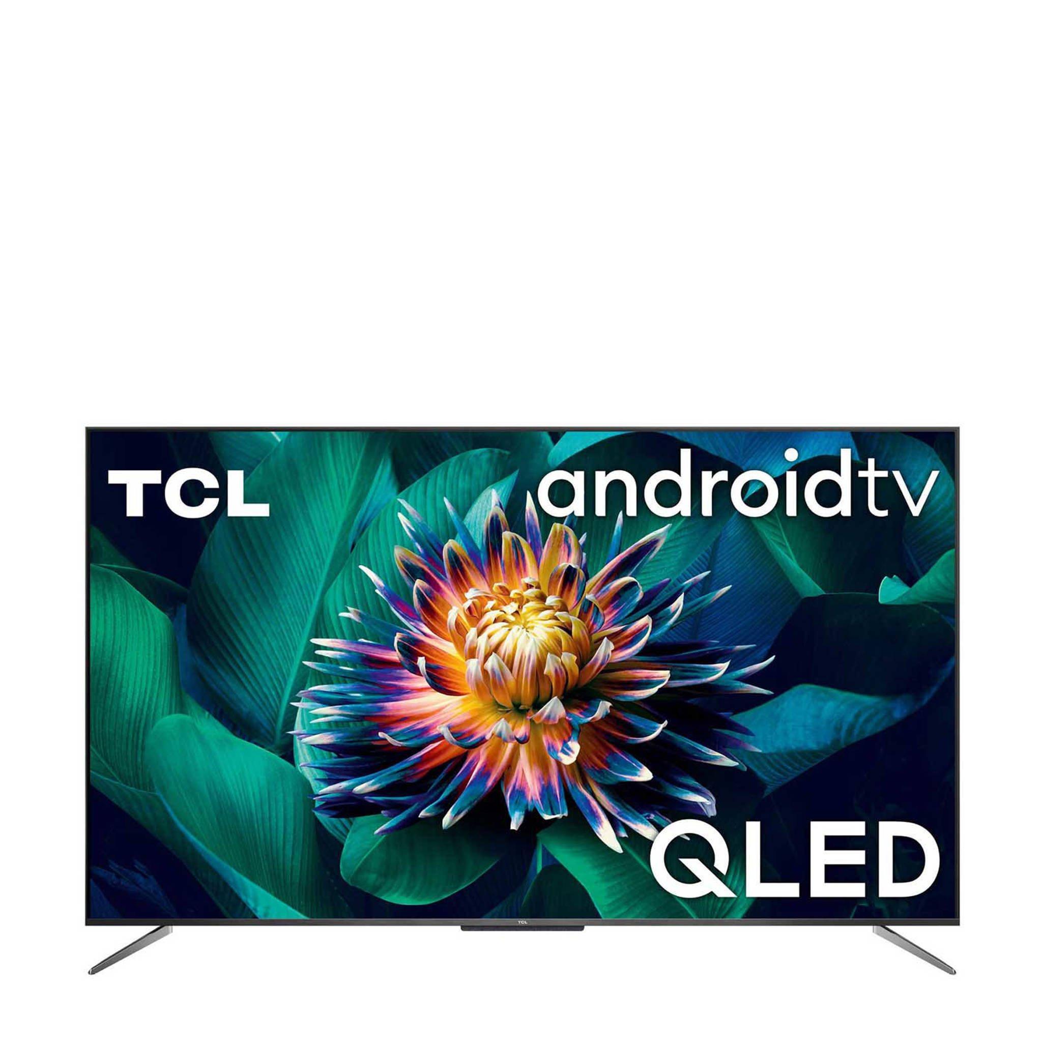 "TCL 65C715 65"" 4K Ultra HD QLED TV voor 624,- (inclusief 75,- cashback)."