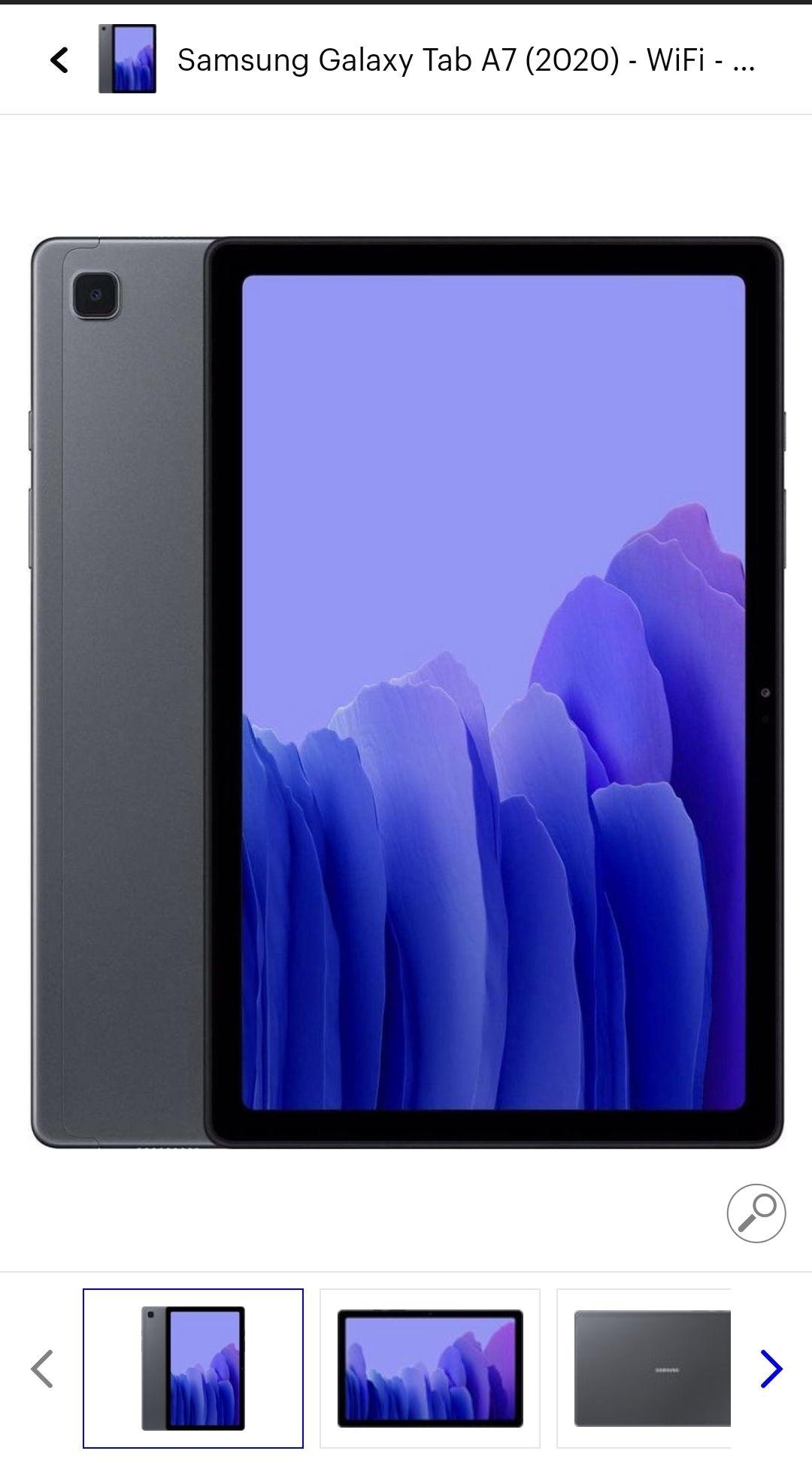 Samsung tab a7 (2020)