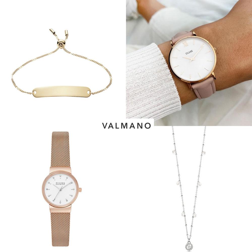 Merk sieraden / horloges sale tot -75% @ Valmano