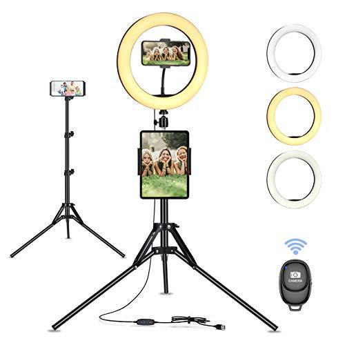 Ringlamp met statief @ Amazon.de
