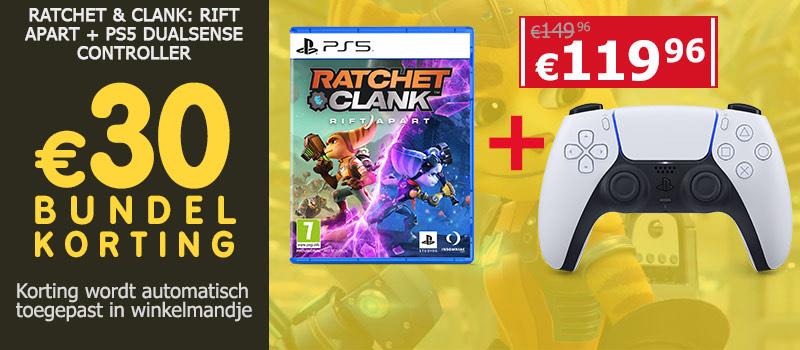 Ratchet & Clank - Rift Apart + PS5 controller @ GameMania