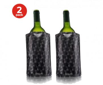 2-Pack Vacu Vin Actieve Wijnkoeler - Wicker
