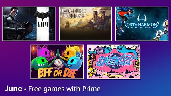 Amazon Prime Gaming - Juni 2021