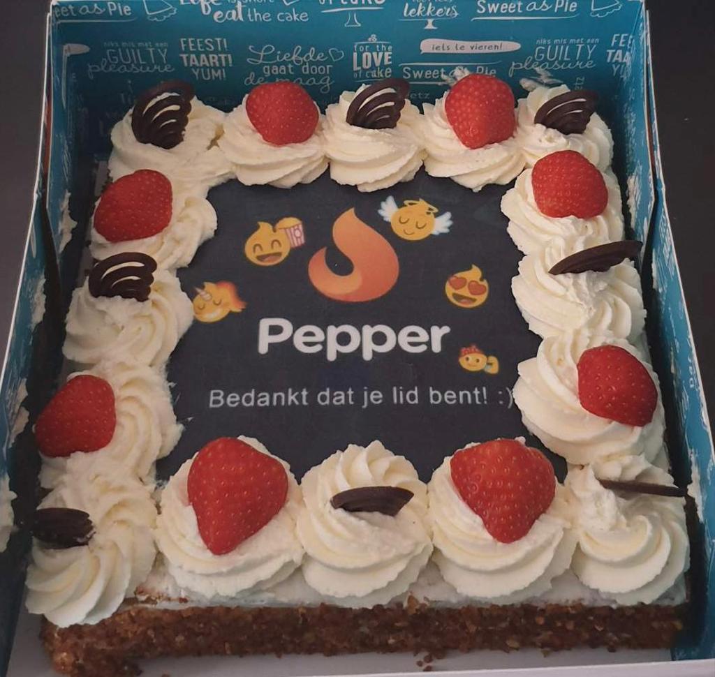 Pepper is jarig! + Win een taart