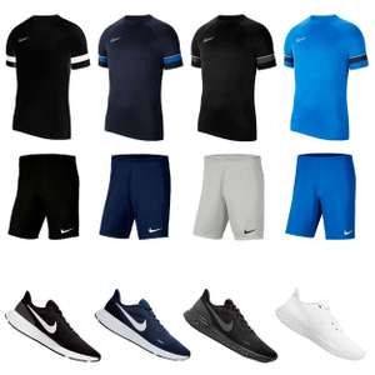 Nike 3-delige sportset INCLUSIEF schoenen - Mix & Match