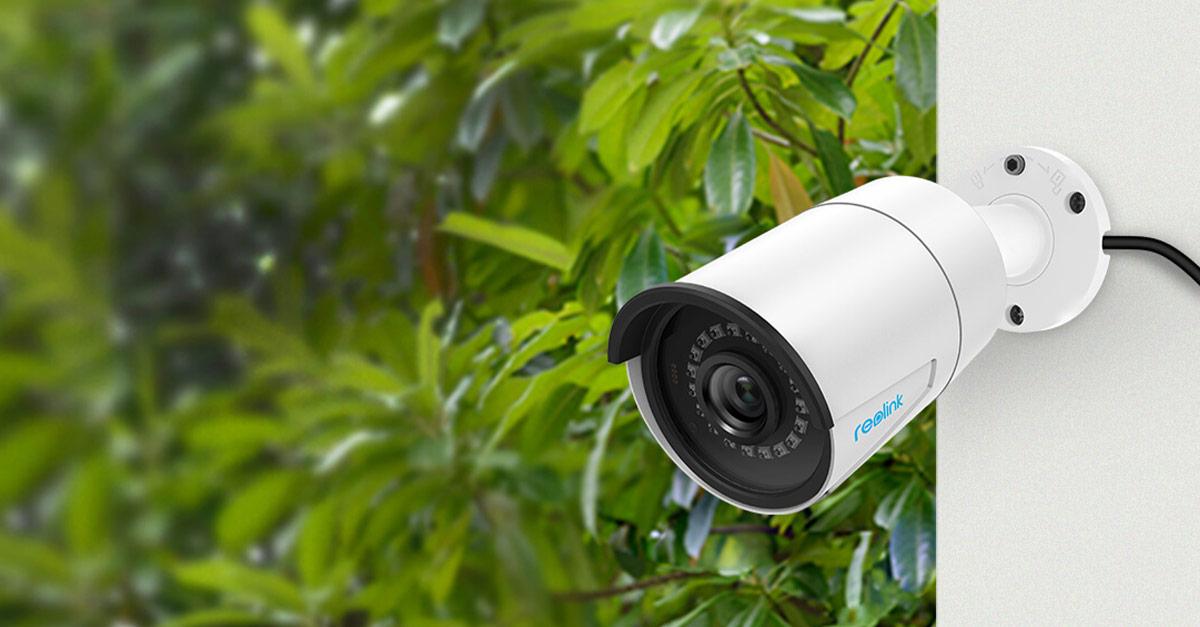 Reolink RLC-410 5MP PoE beveiligingscamera voor €42,75 @ Reolink