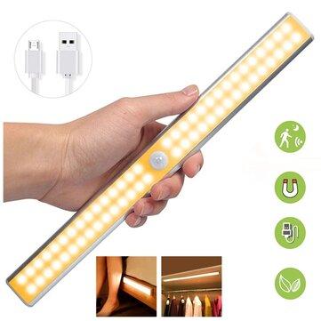 40 of 60 LED balk Warm/White led(Bewegingsdetectie en USB oplaadbaar)