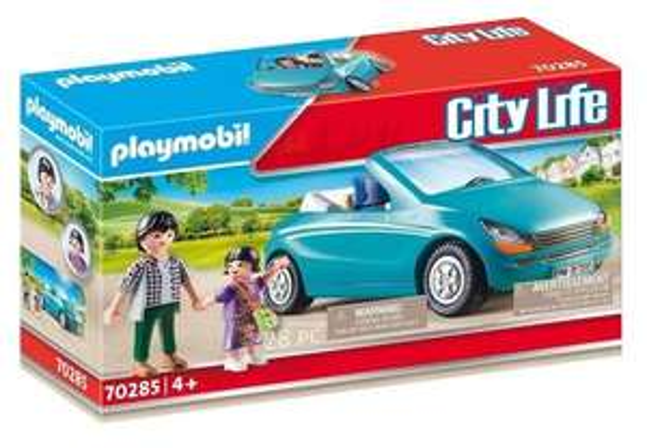Playmobil City Life 70285 Papa Met Meisje En Cabrio