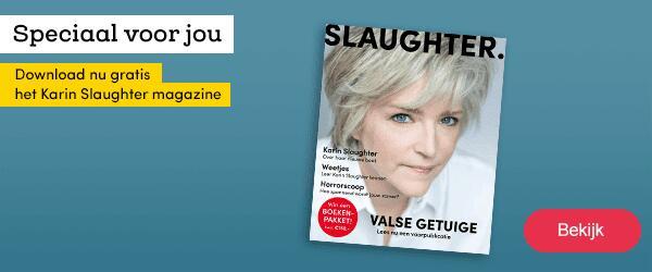 Digitale magazine Karin Slaughter gratis @ Bookspot