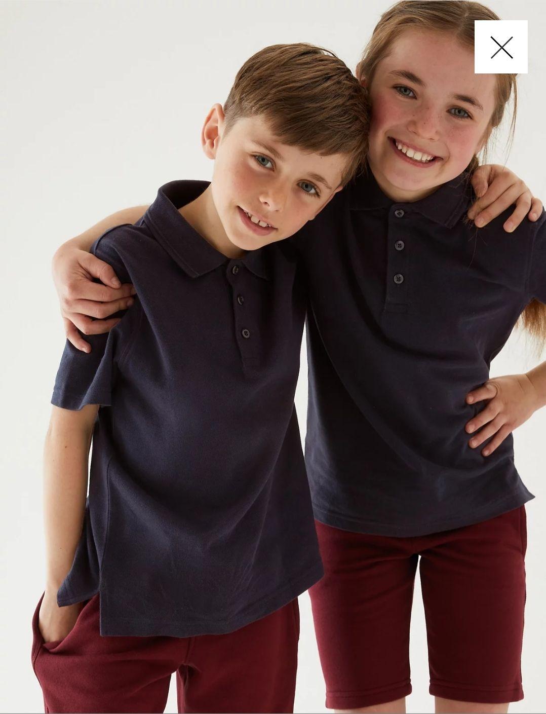 Marks & Spencer polo shirts unisex in verschillende kleuren