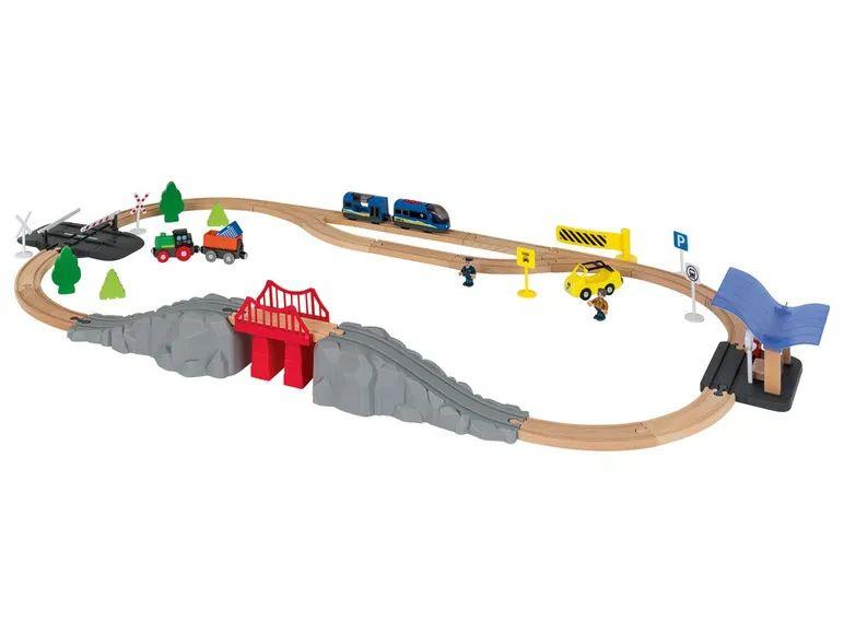 Houten treinbaan van playtive 50% korting