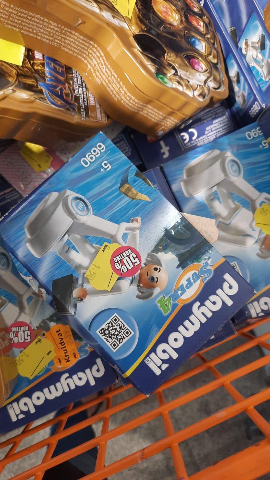 Gratis producten waaronder Playmobil @ Prijsmepper Arnhem