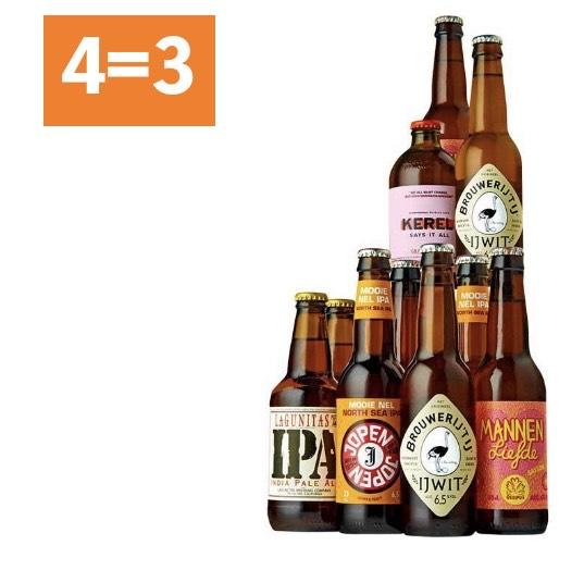 Alle craft speciaalbieren 4=3