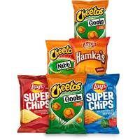 Cheetos Goals en andere varianten Cheetos, Lay's Superchips en Lay's Hamka's 2 voor 2 euro bij ah