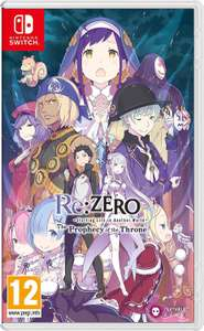 Re:ZERO - Starting Life in another World: the Prophecy of the Throne (Nintendo Switch) @Amazon UK