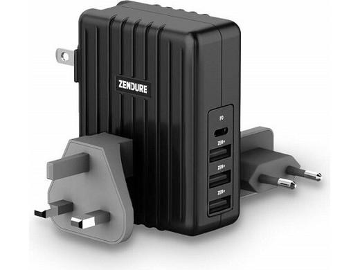 Zendure 4-Poorts PD USB-Lader 45W @ iBOOD