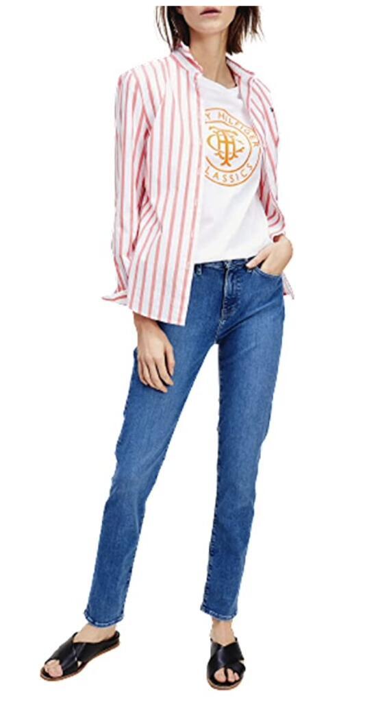 Tommy Hilfiger dames VENICE slim fit jeans
