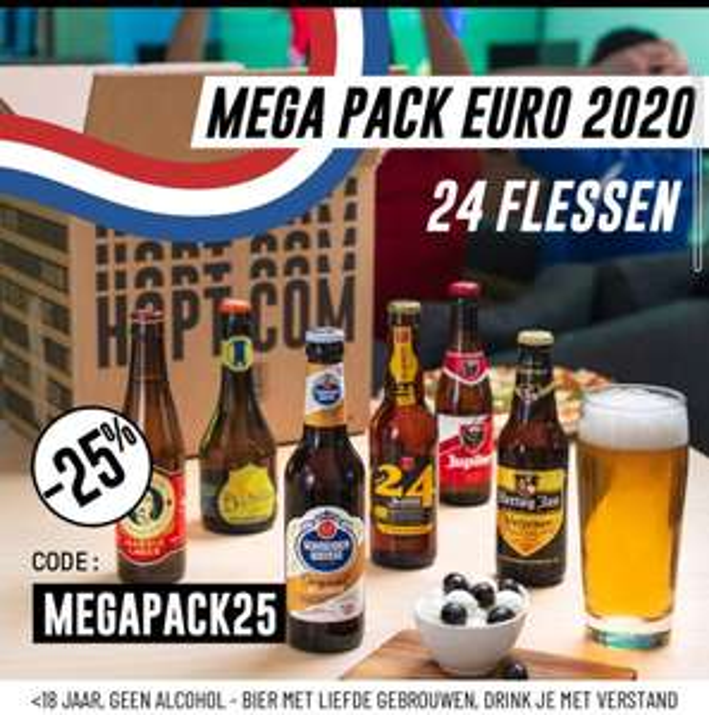 Mega pack euro 2020 - 24 flessen [ inc gratis verzending]