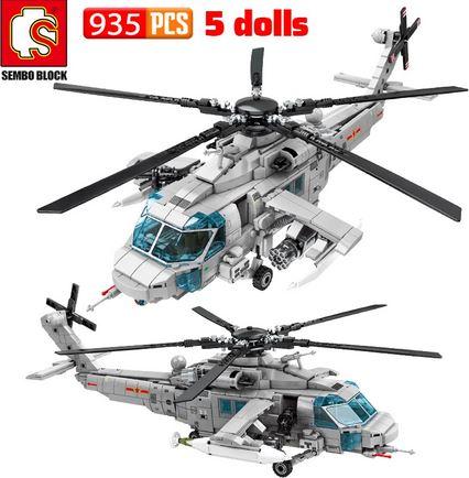 Leger helicopter (935 bricks + 5 poppetjes) voor 18,88eur, -17%.