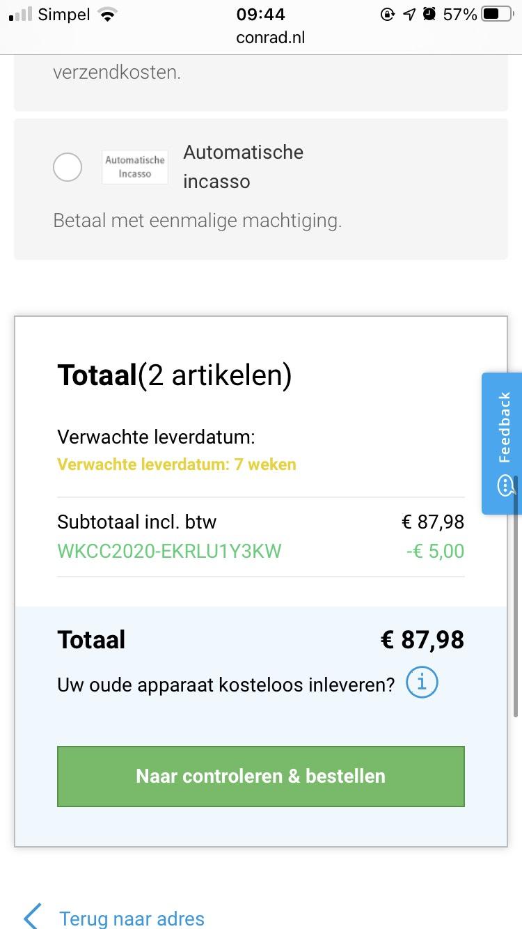 LEGO Bonsai + Bloemenboeket incl welkomstkorting €87,98