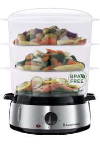 Russell Hobbs Cook@Home Steam Cooker/ Steam, 3 Layers (9L)