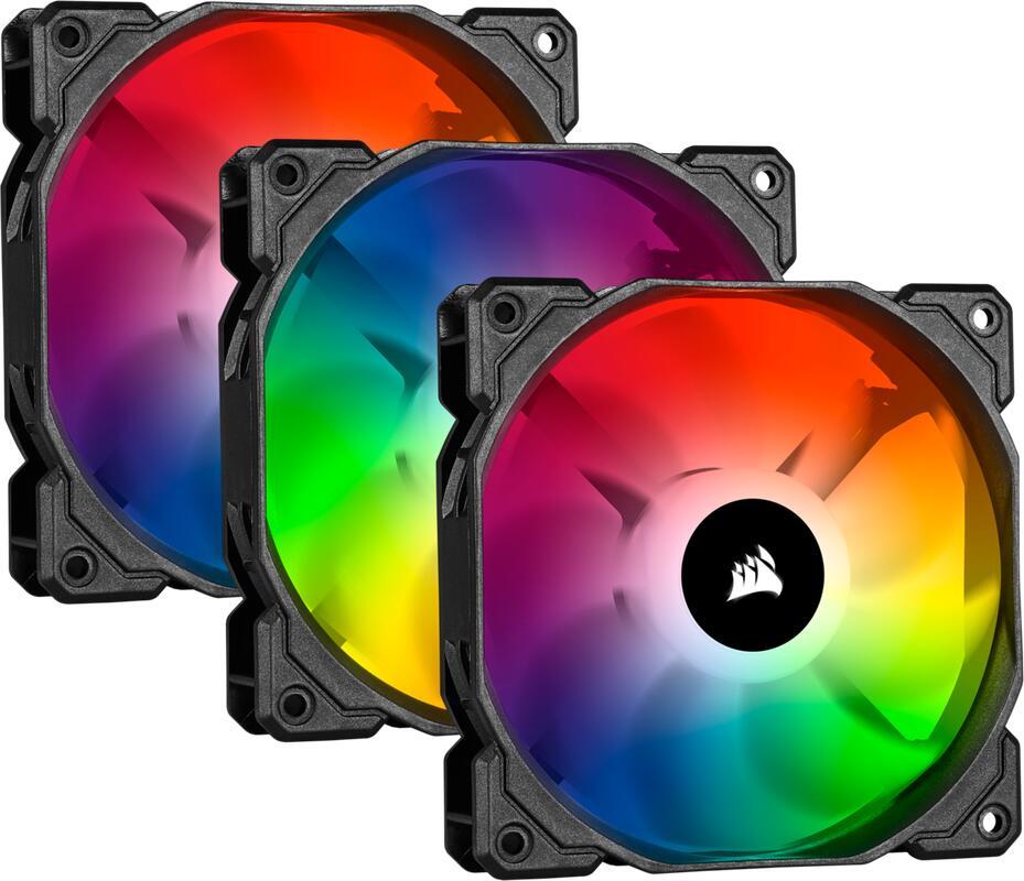Corsair iCUE SP120 RGB PRO Performance (Triple Pack with Lighting Node Core), 120mm @ amazon.nl