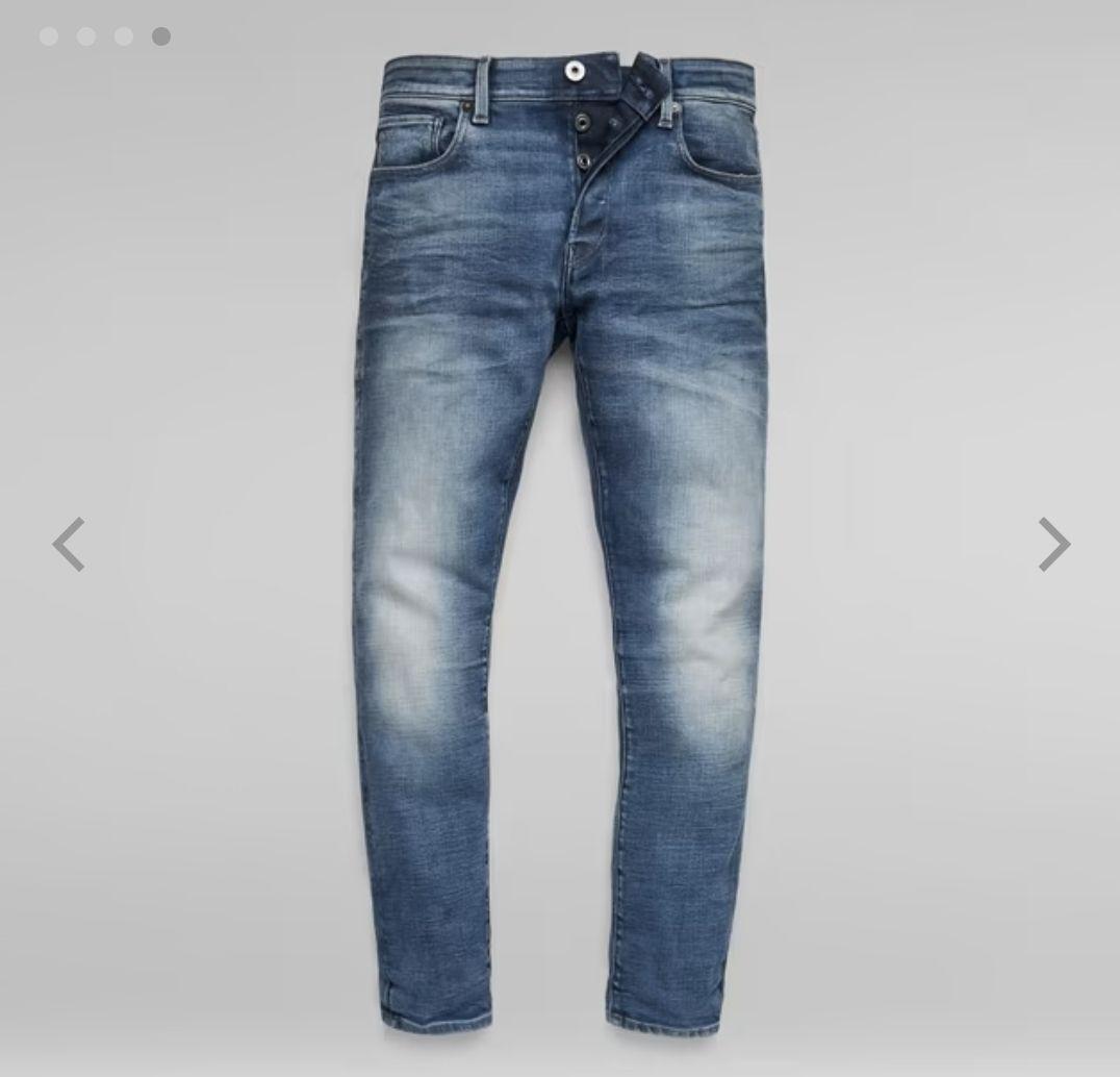 G-STAR RAW 3301 Slim Jeans (Faded Clear Sky)