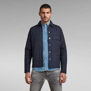 G-Star Raw Quilted Men's Quilted Jacket - Marineblauw