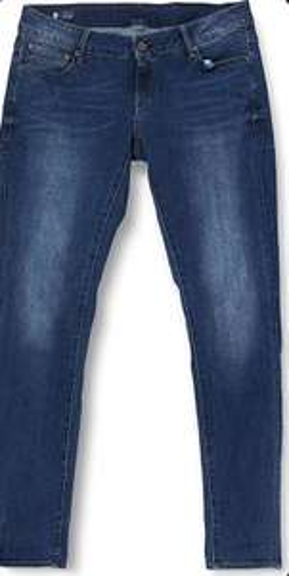 G-Star RAW Women 3301 Low Skinny Jeans Medium blue