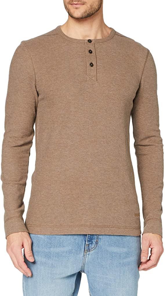 BOSS Triflash men's T-shirt/Trui (Bruin)