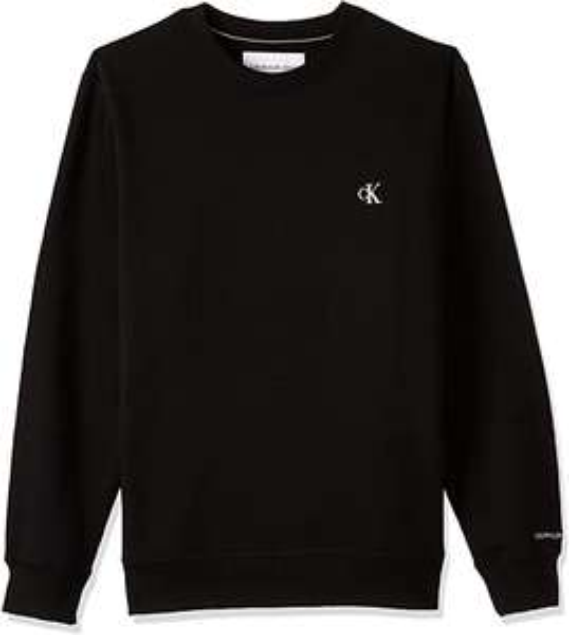 Calvin Klein Jeans Ck Essential Reg Cn Men's Pullover/Sweater (Black)