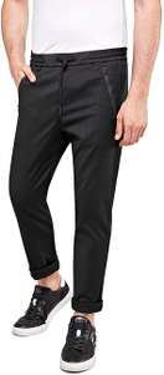 Replay Men Comfort jogger with pockets and zipper (Zwart)