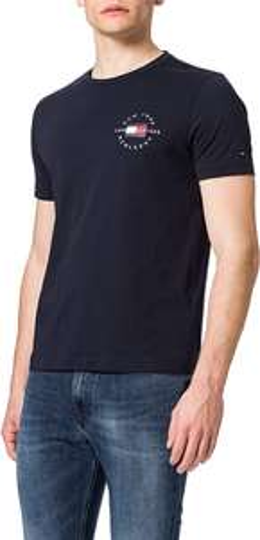 Tommy Hilfiger Men CIRCLE CHEST TEE - T-shirt print