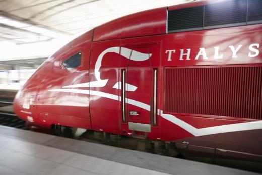 Enkele reis Thalys naar Antwerpen, Brussel of Parijs voor 25 Euro