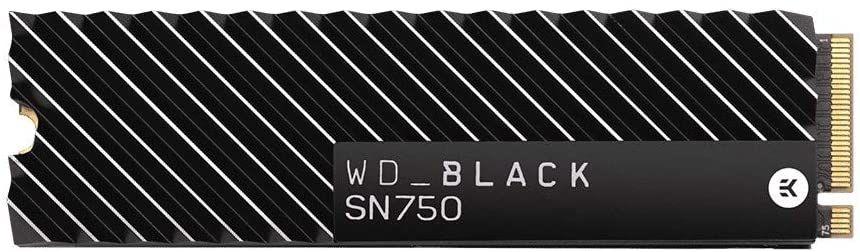 WD Black SN750 NVMe 500GB SSD met heatsink @Megekko