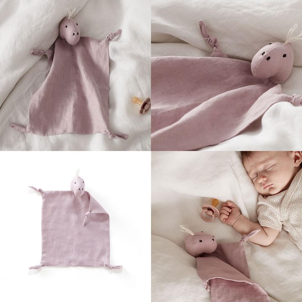 Kids Concept - Comfort Blanket Dino - Pink