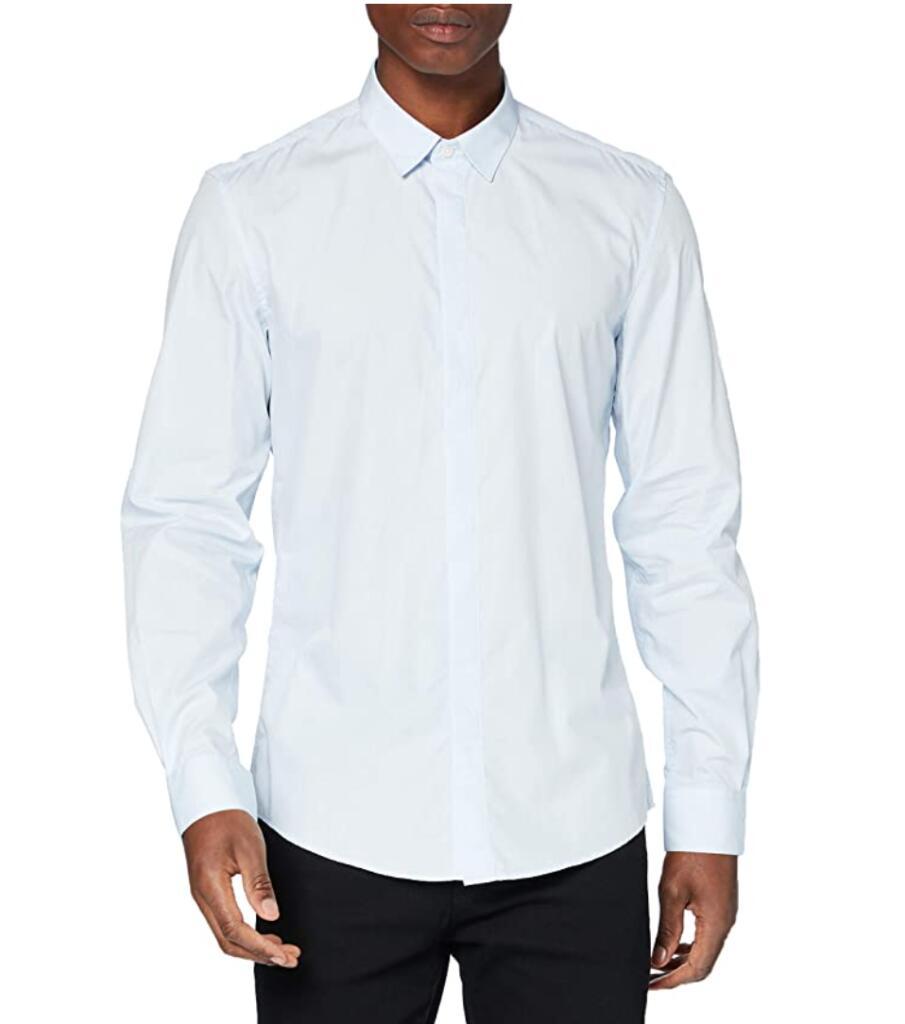 Antony Morato heren overhemd lichtblauw voor €9,35 @ Amazon.nl