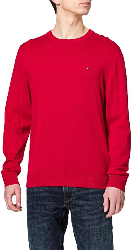 Tommy Hilfiger Men's Organic Cotton Blend Crew Neck Sweater