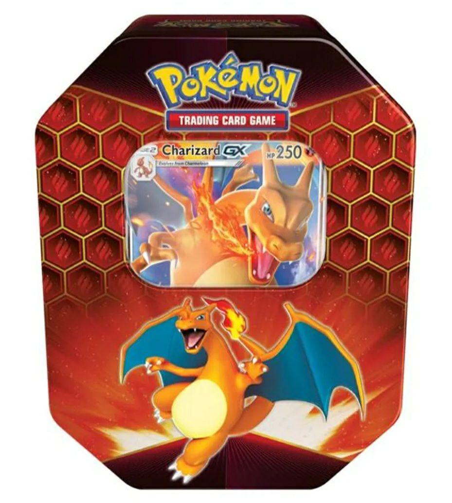 Pokémon Trading Card Game - Hidden Fates Charizard GX Tin