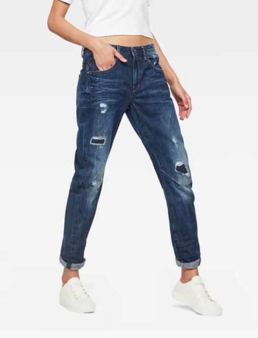 G-STAR RAW Women's Arc 3D Low Waist Boyfriend Jeans