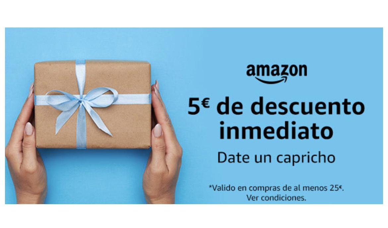 5€ korting bij 25€ aankoop Amazon Spanje.