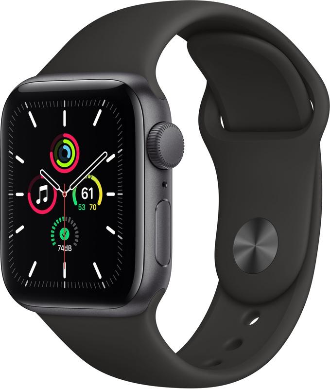 Apple Watch SE (40mm) Grijs (Zwart) @ amazon.nl