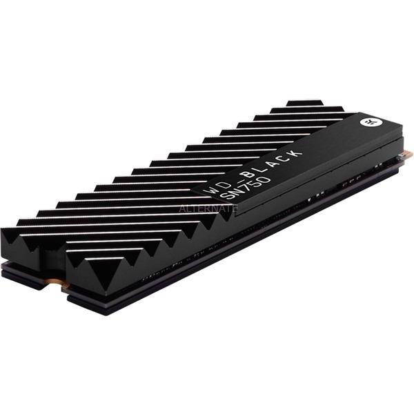 WD Black SN750 NVMe SSD 2 TB SSD