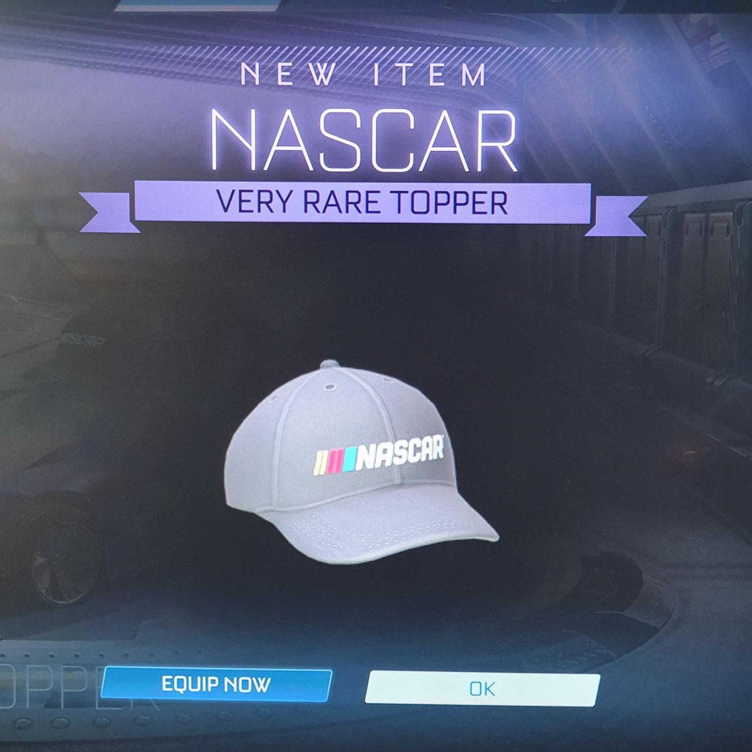 Gratis Nascar Pet in Rocket League