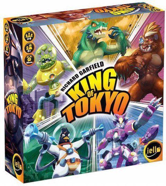 King of Tokyo bordspel NL (nieuwste editie)