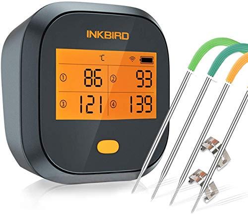 (Amazon lightning deal) Inkbird Grillthermometer WLAN IBBQ-4T